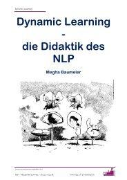 Dynamic Learning - die Didaktik des NLP - NLP Akademie Schweiz
