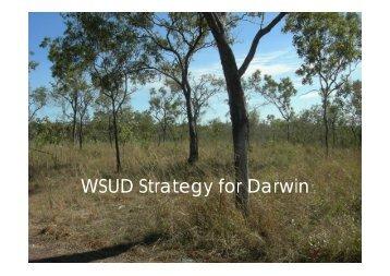WSUD Strategy for Darwin