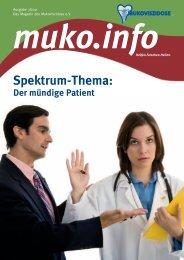 Der mündige Patient (PDF) - Mukoviszidose e.V.