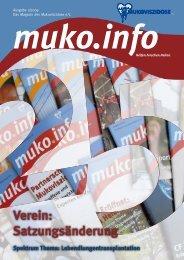 Verein: Satzungsänderung - Mukoviszidose e.V.
