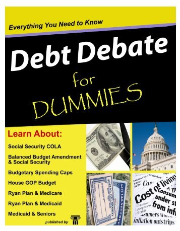 DebDebt Debate for Dummies