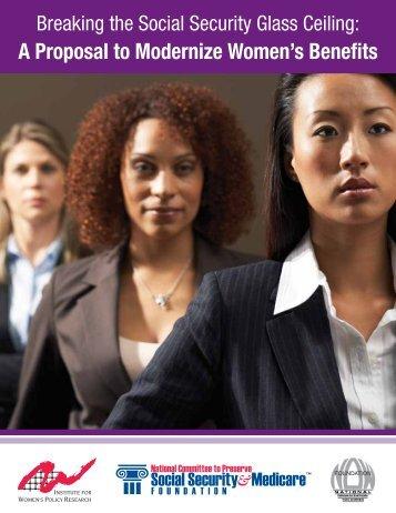 A Proposal to Modernize Women's Benefits