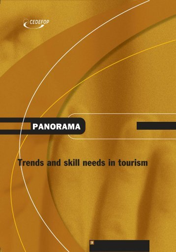 Trends and skill needs in the tourism sector - Cedefop - Europa