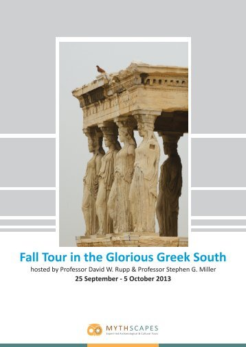 Fall Tour in the Glorious Greek South 25 September - MythScapes
