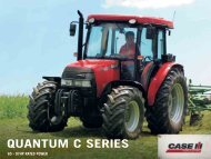 Case IH QUANTUM C – The High energy performer at ease in every application