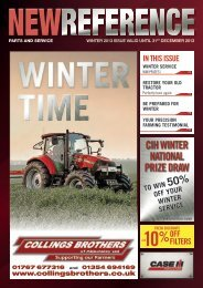 Case IH Winter Magazine 2013 - Collings Brothers of Abbotsley