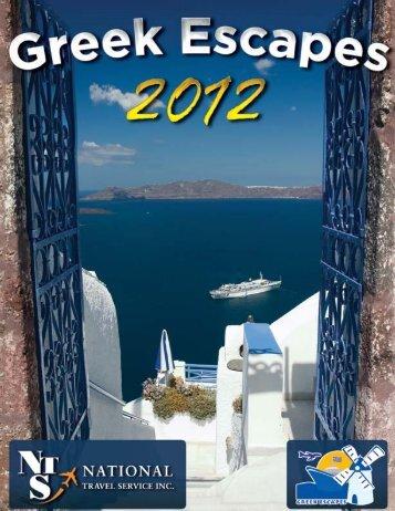 View our Brochure! - Greek Escapes