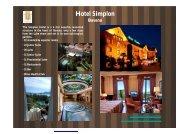 Hotel Simplon Baveno - eibtm