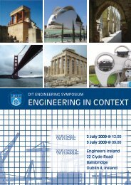 ENGINEERING IN CONTEXT - Dublin Institute of Technology