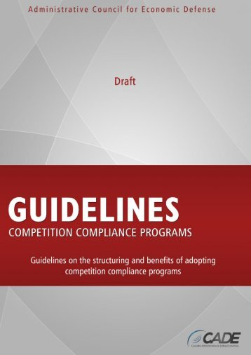 Guidelines for Competition Compliance Programs