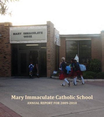 Mary Immaculate Catholic School