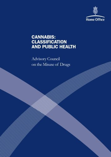 Cannabis Classification and Public Health