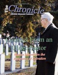 Menno Simons on the Assurance of Salvation - Chortitzer Mennonite ...