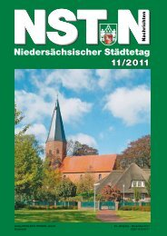 NST-N 11/2011 - Niedersächsischer Städtetag