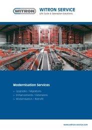 Modernisation Services