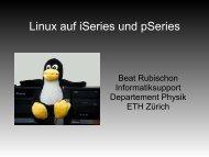 Linux auf iSeries und pSeries
