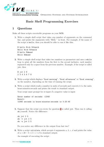 download programming tutorials exercises tips questions