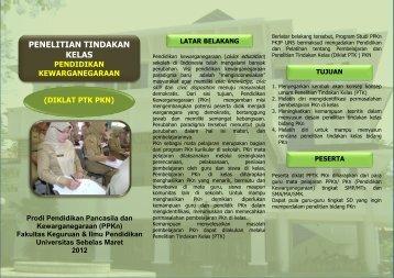 3. Diklat PTK PKn - PJJ FKIP UNS - Universitas Sebelas Maret