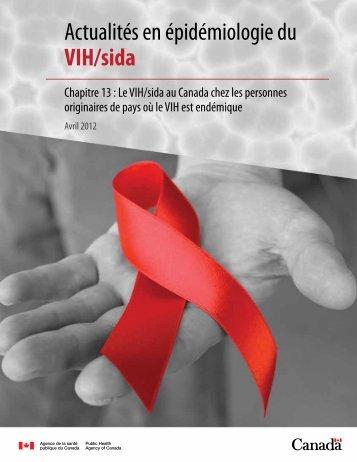 Actualités en épidémiologie du VIH/sida