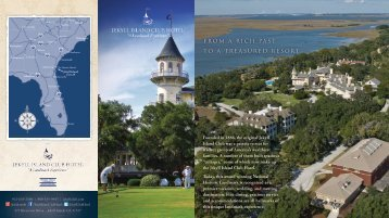 Five historic settings,157 rooms & suites - Jekyll Island Club Hotel