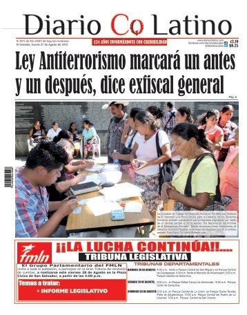 Edición 27 de Agosto de 2015