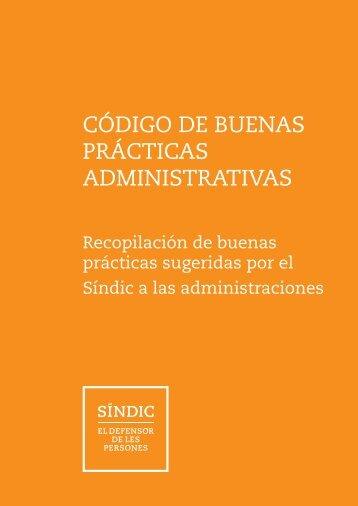 CÓDIGO DE BUENAS PRÁCTICAS ADMINISTRATIVAS