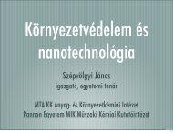 Környezetvédelem és nanotechnológia