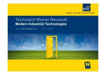 350 employees Technopol Wiener Neustadt