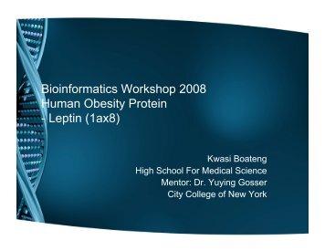 Human Obesity Protein - Leptin (1ax8)