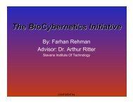 By Farhan Rehman Advisor Dr Arthur Ritter