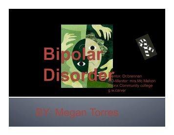 BY Megan Torres