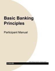 Basic Banking Principles
