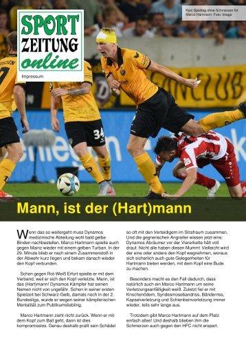 Mann ist der Hartmann