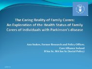 presented by Ann Stokes on 15th June 2010 ((.pdf ... - Care Alliance