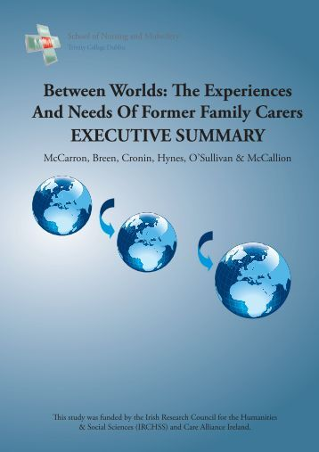 Between Worlds The Experience and Needs of ... - Care Alliance