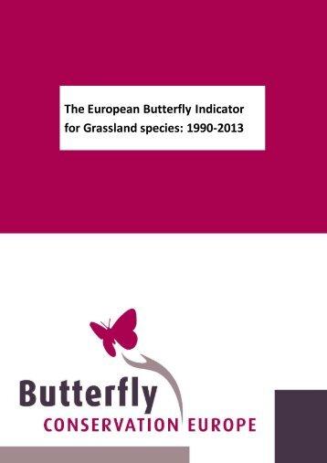 for Grassland species 1990-2013