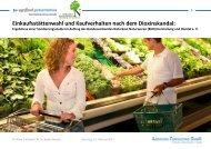 Blitzumfrage Kaufverhalten & Dioxin - BNN Herstellung und Handel eV
