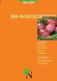 BNN-XML - BNN Herstellung und Handel eV