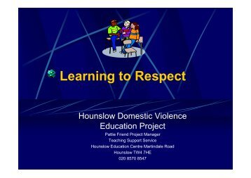 Learning to Respect