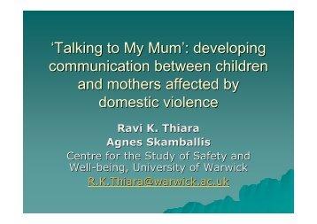 'Talking Mum'