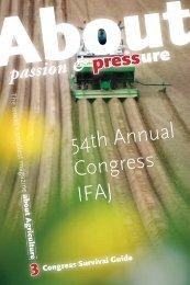 passion - IFAJ 2010