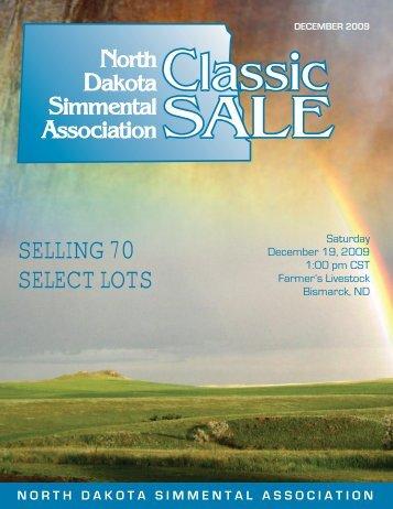 december 2009 - North Dakota Simmental Association