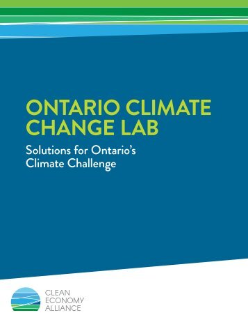 ONTARIO CLIMATE CHANGE LAB