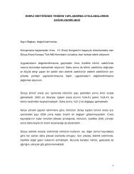 Berna Vatan - Dünya Enerji Konseyi Türk Milli Komitesi
