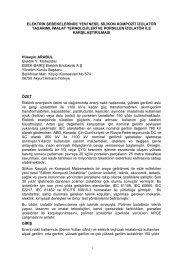 Hüseyin ARABUL - Dünya Enerji Konseyi Türk Milli Komitesi