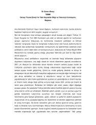 Dr. Soner Aksoy - Dünya Enerji Konseyi Türk Milli Komitesi