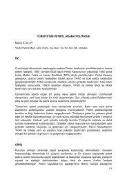 Mesut ATALAY - Dünya Enerji Konseyi Türk Milli Komitesi