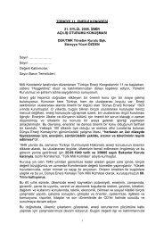Süreyya Yücel Özden - Dünya Enerji Konseyi Türk Milli Komitesi