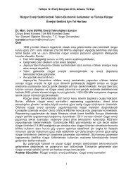 Cenk SEVİM - Dünya Enerji Konseyi Türk Milli Komitesi