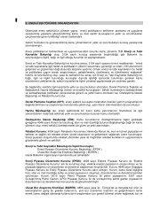 b. enerji sektöründe organizasyon - Dünya Enerji Konseyi Türk Milli ...